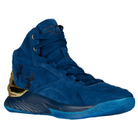 Under Armour Curry 1 Lux Mid - Men's -  Stephen Curry - Navy / Gold