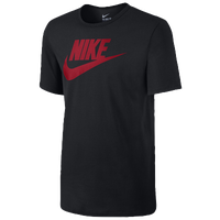 Nike Futura Icon T-Shirt - Men's - Black / Red