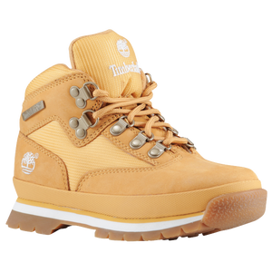 Timberland Euro Hiker - Boys' Grade School - Wheat/Wheat