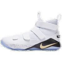 aee15d5852cb Nike LeBron Soldier 11 - Men s - Lebron James - White   Gold