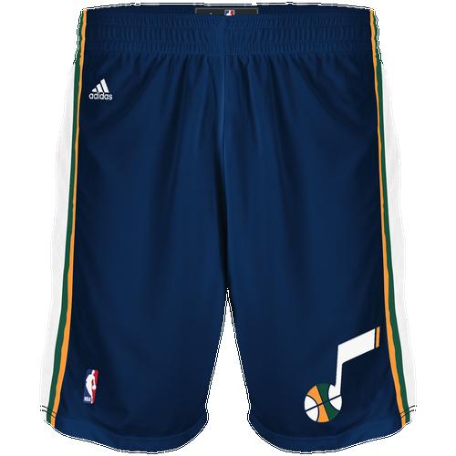 adidas NBA Swingman Shorts  Men39;s  Clothing  Utah Jazz  Dark Navy