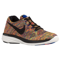 Nike Flyknit Lunar 3 - Men's - Blue / Red