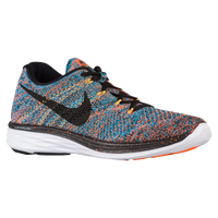 Nike Flyknit Lunar 3 - Men's - Orange / Light Blue