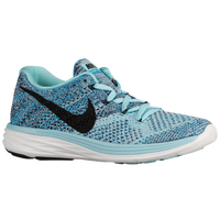 Nike Flyknit Lunar 3 - Women's - Light Blue / Black