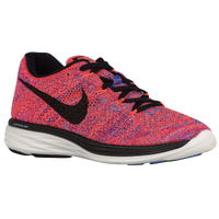 Nike Flyknit Lunar 3 - Women's - Orange / Blue