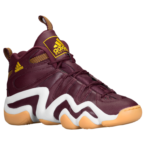 Selected Style: Light Maroon/White/Tribe Yellow | Width - D - Medium