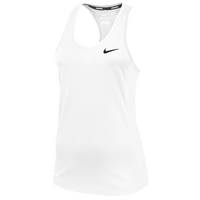 Nike Team Miler Tank II - Women's - White / Black