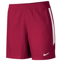 "Nike Team Woven 7"" Short - Men's - Red / White"