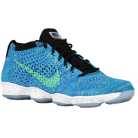 Nike Flyknit Zoom Agility - Women's - Light Blue / Black