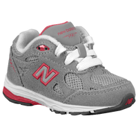 New Balance 990 - Girls' Toddler - Grey / Pink