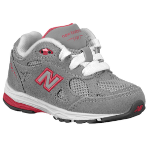 New Balance 990 - Girls' Toddler - Grey/Pink