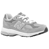 New Balance 990 - Boys' Grade School - Grey / White