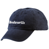 Woolworth Strapback Cap - Men's - Navy / White