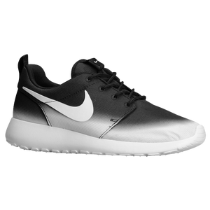 Nike Roshe Run - Women's - Black/White