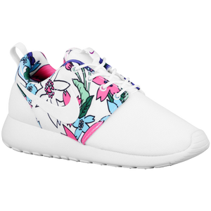 Nike Roshe One - Women's - White/Bold Berry/White