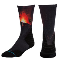 Stance Erupt Crew - Men's - Black / Red