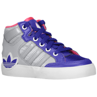 adidas Originals Hard Court Hi - Boys' Toddler - Purple / Grey