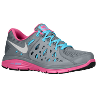 Nike Dual Fusion Run 2 - Women's - Grey / Pink