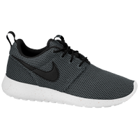 Nike Roshe Run - Boys' Grade School - Grey / Black