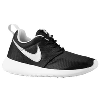 Nike Roshe Run - Boys' Grade School - Black / White