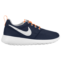 Nike Roshe One - Boys' Grade School - Navy / Orange