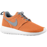 Nike Roshe Run - Boys' Grade School - Orange / White