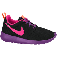 Nike Roshe One - Girls' Grade School - Black / Purple