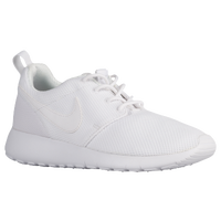 Nike Roshe One - Girls' Grade School - All White / White