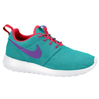 Nike Roshe Run - Girls' Grade School - Aqua / Red