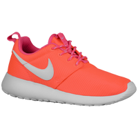 Nike Roshe One - Girls' Grade School - Orange / Pink