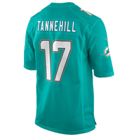 Nike NFL Game Day Jersey - Men's -  Ryan Tannehill - Miami Dolphins - Aqua / White