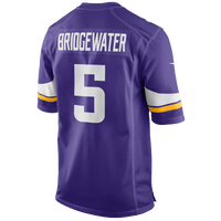 Nike NFL Game Day Jersey - Men's -  Teddy Bridgewater - Minnesota Vikings - Purple / White