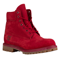 "Timberland 6"" Premium Waterproof Boots - Men's - Red / Tan"