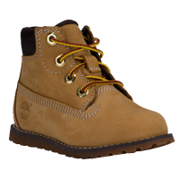 "Timberland Pokey Pine 6"" Boot - Boys' Toddler - Tan / Brown"