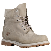 "Timberland 6"" Premium Waterproof Boots - Women's - Grey / Brown"