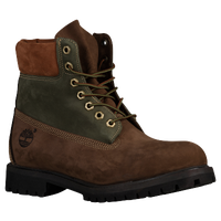 "Timberland 6"" Premium Waterproof Boots - Men's - Brown / Dark Green"
