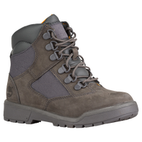 "Timberland 6"" Field Boots - Boys' Toddler - Grey / Grey"