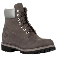 "Timberland 6"" Premium Waterproof Boots - Men's - Grey / Black"
