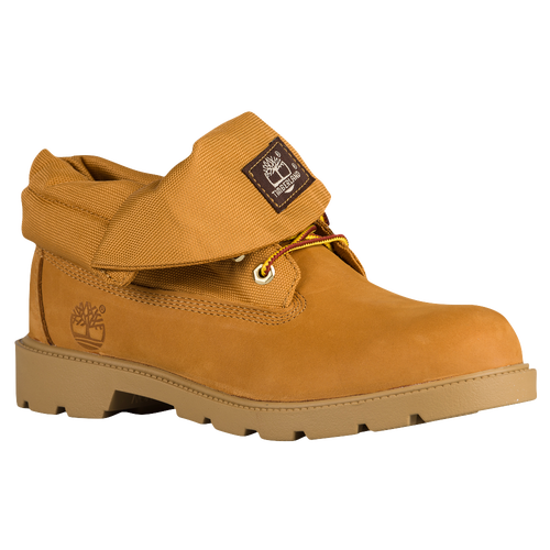 Timberland Roll Top Boots - Boys' Toddler - Gold / Tan