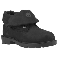 Timberland Roll Top Boots - Boys' Toddler - All Black / Black