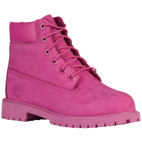 "Timberland 6"" Premium Waterproof Boot - Girls' Preschool - Pink / Pink"