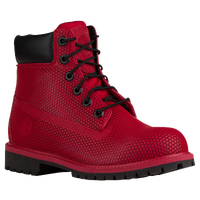 "Timberland 6"" Exo-Web Boot - Boys' Grade School - Red / Black"