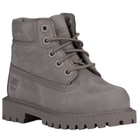 "Timberland 6"" Premium Waterproof Boots - Boys' Toddler - Grey / Grey"