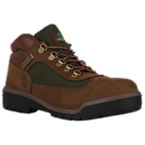 Timberland Field Boots - Men's - Brown / Dark Green