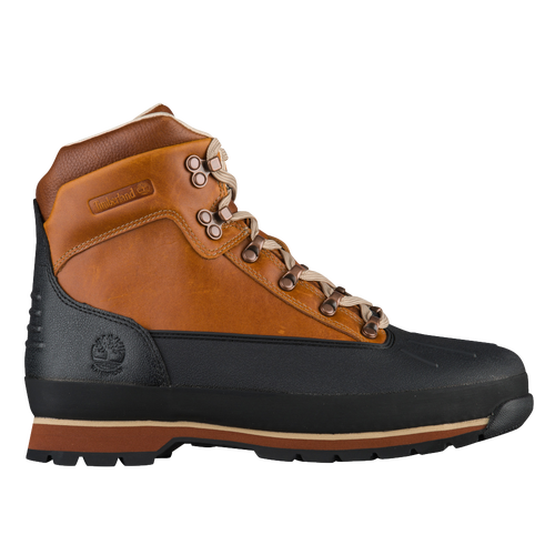 Timberland Euro Hiker Shell Toe Boots - Men's - Orange / Black