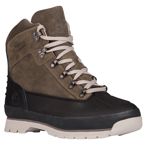 Timberland Euro Hiker Shell Toe Boots - Men's - Brown / Black
