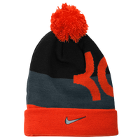 Nike KD Beanie - Boys' Grade School - Orange / Grey