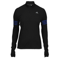 adidas Response 1/2 Zip - Women's - Black / Blue