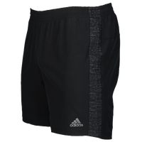 "adidas Supernova 7"" Shorts - Men's - Black / Grey"