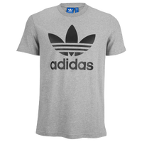 adidas Originals Trefoil T-Shirt - Men's - Grey / Black